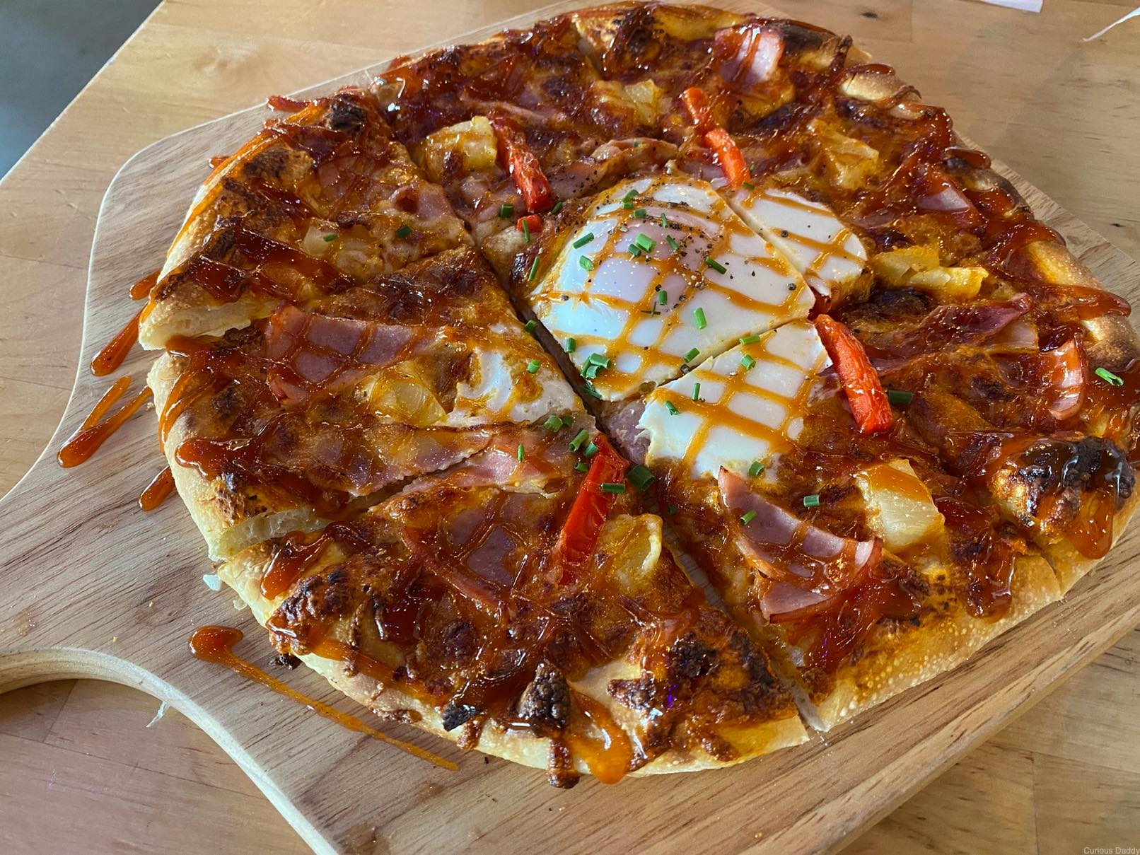 Whisk & Paddle pizza