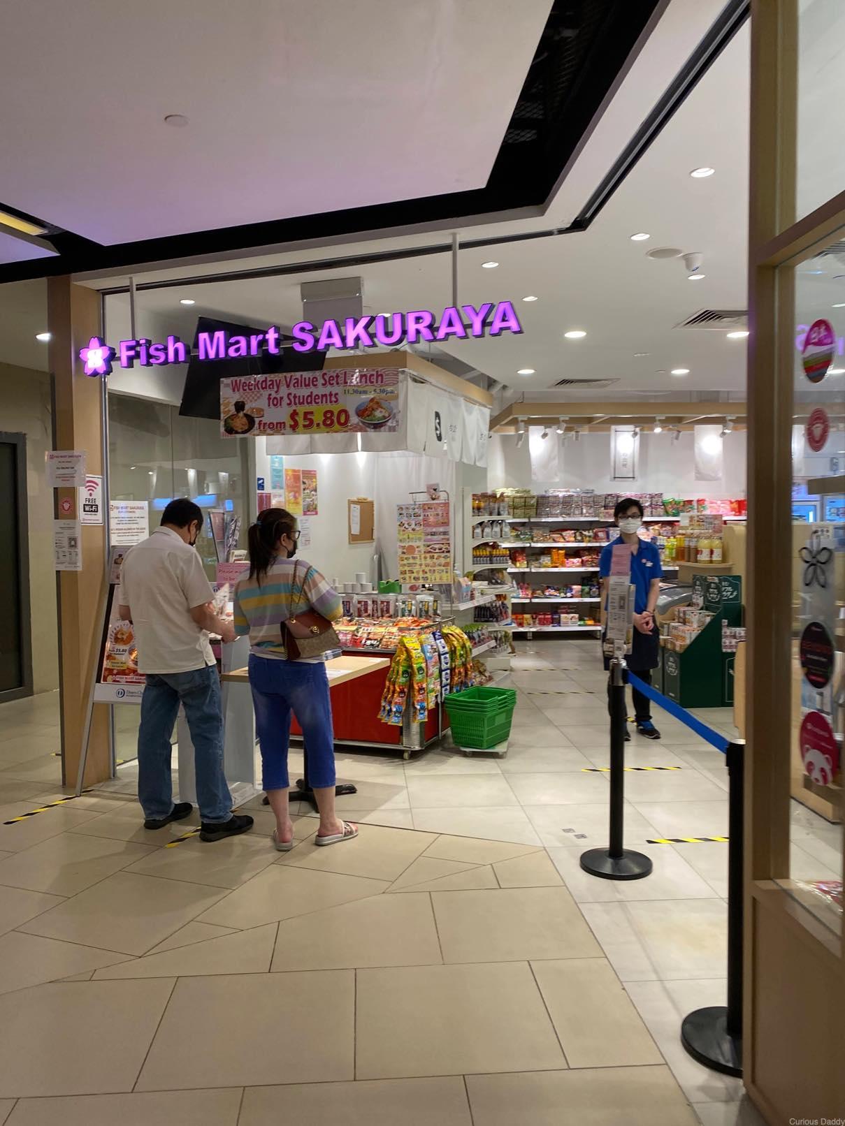 seletar mall Sakuraya